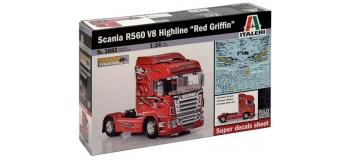 Maquettes : ITALERI I3882 - Camion tracteur Scania R560 V8