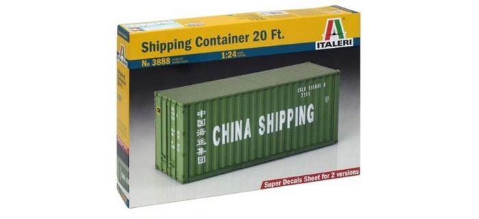 Maquettes : ITALERI I3888 - Container 20'