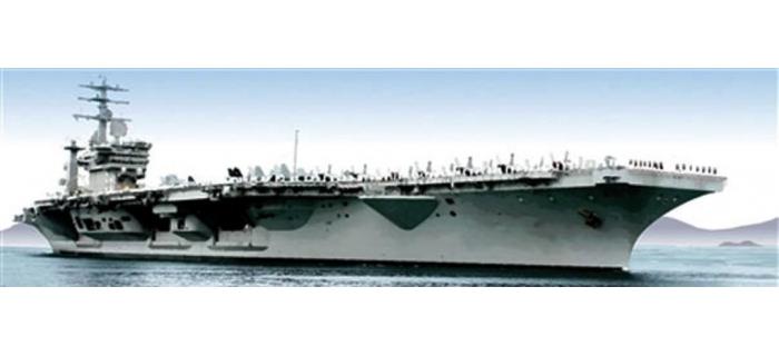 Maquettes : ITALERI I503 - Porte-avions USS Nimitz
