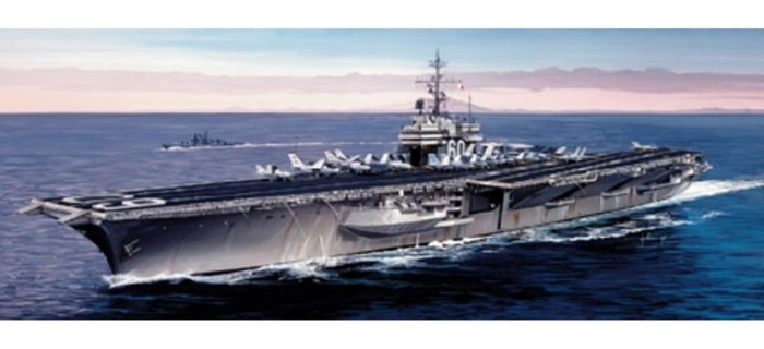 Maquettes : ITALERI I5520 - Porte-avions USS Saratoga