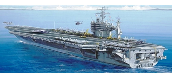 Maquettes : ITALERI I5531 - Porte-avions USS Roosevelt