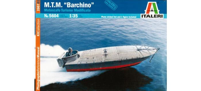 Maquettes : ITALERI I5604 - Bateau MTM barchino - MTM PUNT.