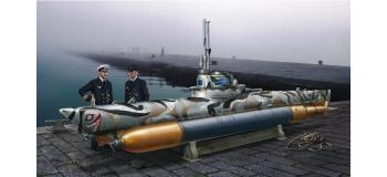 Maquettes : ITALERI I5609 - Sous-marin de poche Biber