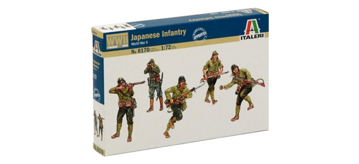 ITALERI I6170 - Infanterie. Japonaise 2ème G.M.