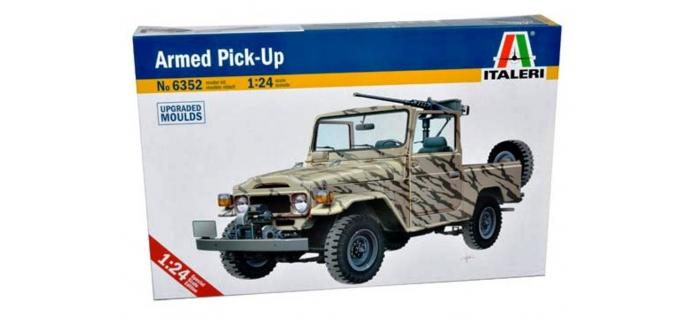 Maquettes : ITALERI I6352 - Véhicule 4x4 armé.
