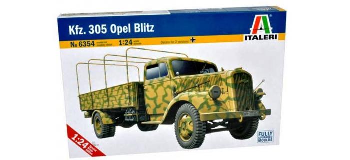 Maquettes : ITALERI I6354 - Camion Opel Blitz Kfz.305