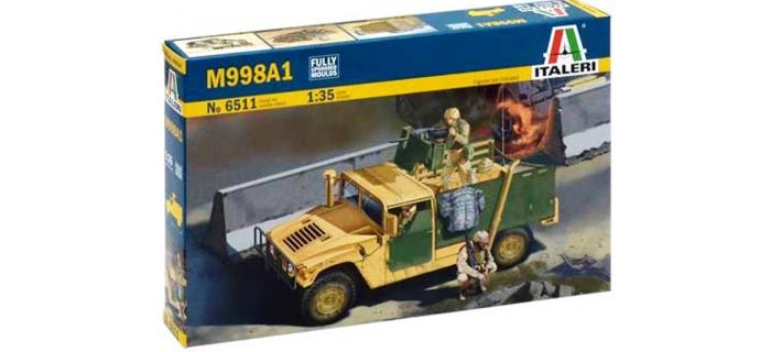 Maquettes : ITALERI I6511 - Véhicule militaire M998 A1