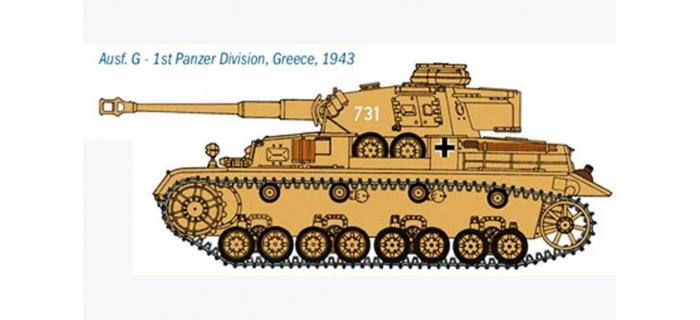 ITALERI I6514 - Panzer IV Ausf. F1/F2