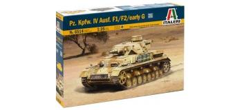 Maquettes : ITALERI I6514 - Panzer IV Ausf. F1/F2
