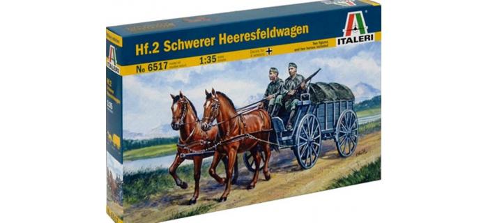 Maquettes : ITALERI I6517 - hf.2 Schweres Heeresfeldwagen