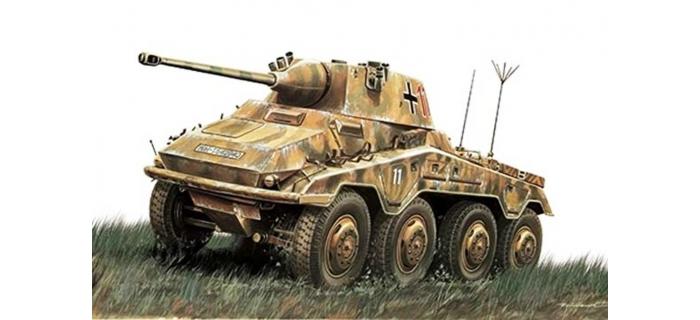 maquettes : ITALERI I6601 - Auto blindé Sd.Kfz.234/2