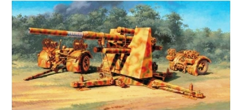 Maquettes : ITALERI I6602 - Canon FlaK 37 88mm