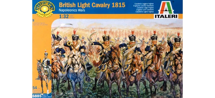 Maquettes : ITALERI I6885 - Cavalerie légère Britannique