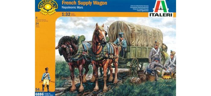 Maquettes : ITALERI I6886 - Chariot ravitaillement Français