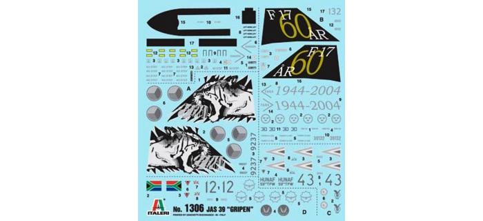 ITALERI I71306 - JAS-39 Gripen