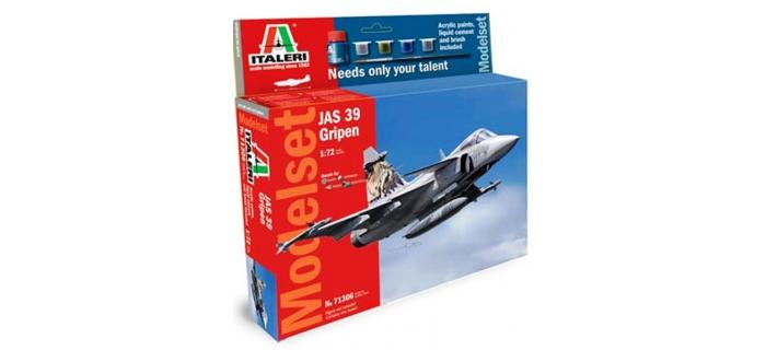 Maquettes : ITALERI I71306 - JAS-39 Gripen