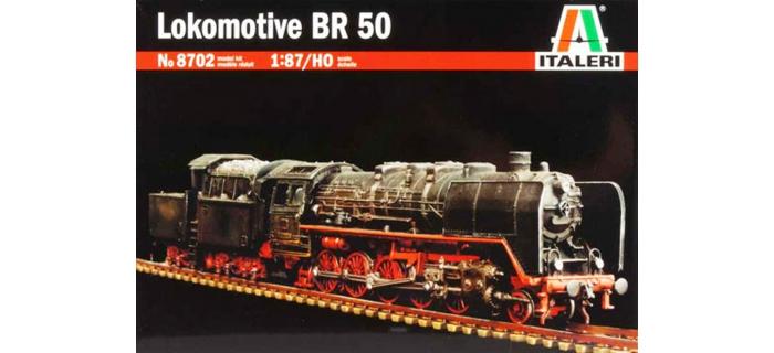 Maquettes : ITALERI I8702 - Locomotive BR50