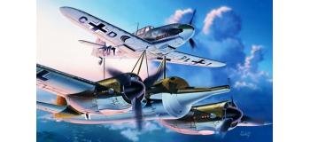 Maquettes : ITALERI I072 - Mistel 1 Ju88 et Bf109F
