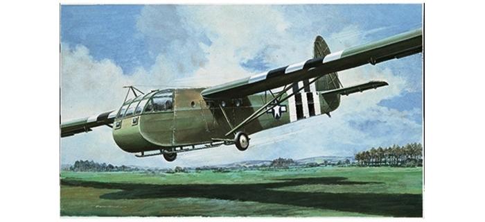 Maquettes : ITALERI I1118 - CG-4A Waco