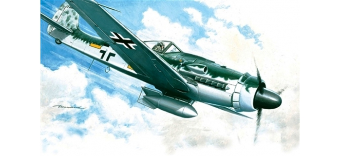Maquettes : ITALERI I1128 - Focke Wulf Fw190 D-9