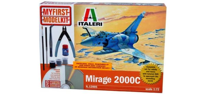 Maquettes : ITALERI I12005 - Mirage 2000C
