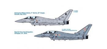 ITALERI I1340 - Avion EF-2000 Typhoon Biplace