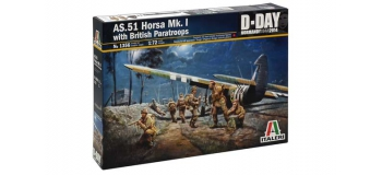 Maquettes : ITALERI I356 - A.51 Horsa Mk.I/II