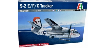 Maquettes : ITALERI I2699 - S-2F Tracker