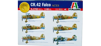 Maquettes : ITALERI I2702 - CR.42 Falco As Italiens