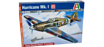 Maquettes : ITALERI I2705 - Hurricane Mk.I