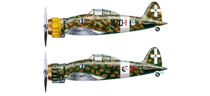 ITALERI I2711 - Macchi MC.200 Saetta Série 2