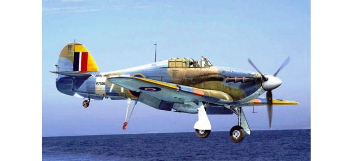 Maquettes : ITALERI I2713 - Sea Hurricane