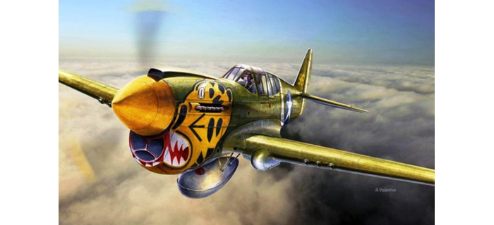 ITALERI I2717 - Curtiss P-40E/K Kittyhawk Mk.II