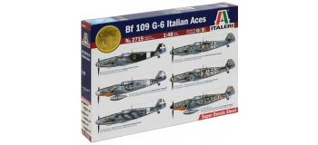 Maquettes :  ITALERI I2719 - Messerschmitt Bf109G-6 Italiens