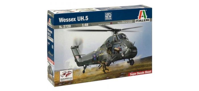 Maquettes : ITALERI I2720 - Wessex UH.5 Malouines