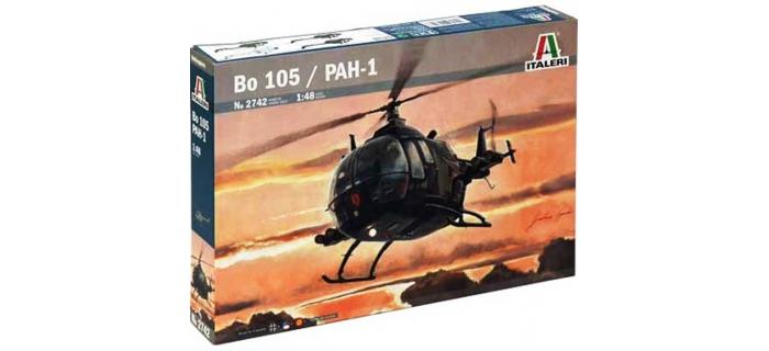 Maquettes : ITALERI I2742 - Bo105 / PAH-1