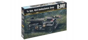 Maquettes : ITALERI I326 - Jeep Ambulance