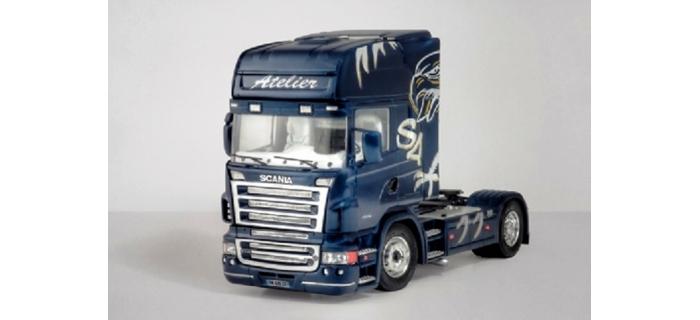 Maquettes : ITALERI I3850 - Scania R620 Atelier