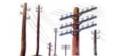 Maquettes : ITALERI I404 - Poteaux Télégraphiques