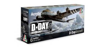 Maquettes :  ITALERI I445AP -Set Peintures Avions D-Day