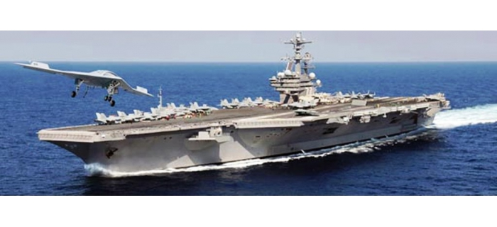 ITALERI I5534 - USS George H.W. Bush CVN-77