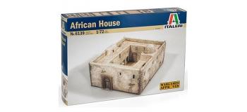 Maquettes : ITALERI I6139 - Maison Africaine