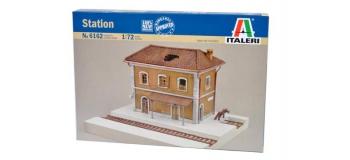 Maquettes : ITALERI I6162 - Gare
