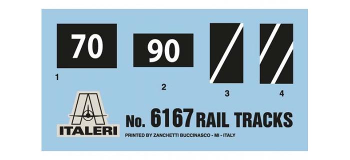 ITALERI I6167 - Section de voie ferrée