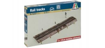 Maquettes : ITALERI I6167 - Section de voie ferrée