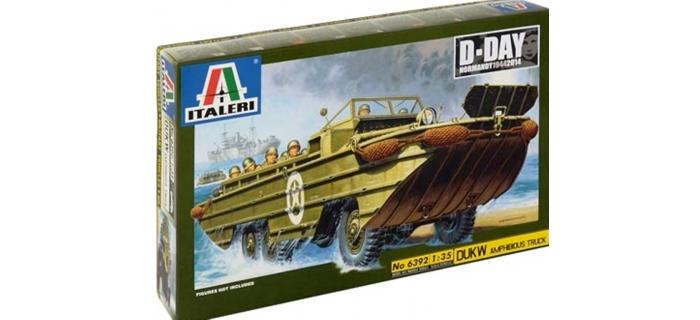 Maquettes :ITALERI I6392 - DUKW