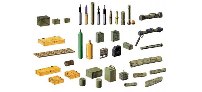 Maquettes : ITALERI I6423 - Accessoires Bataille Modernes