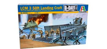 Maquettes : ITALERI I6436 - LCM 3 50ft Landing Craft