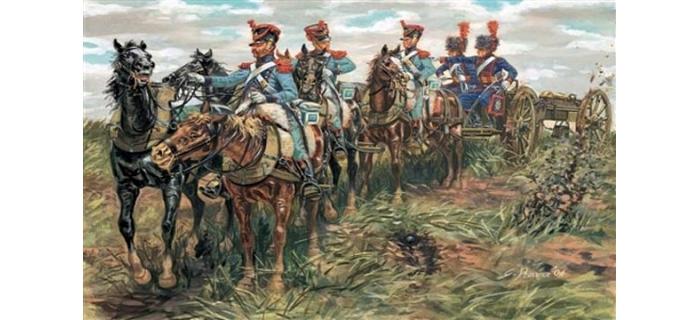 Maquettes : ITALERI I6867 - Train d'artillerie Français