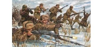 Maquettes : ITALERI I6876 - Infanterie Russe